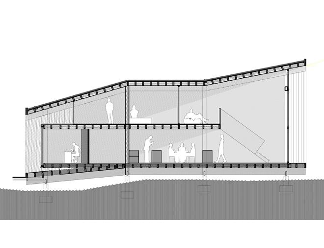 maison tube 2010 arba jean baptiste barache sihem lamine architectes. Black Bedroom Furniture Sets. Home Design Ideas